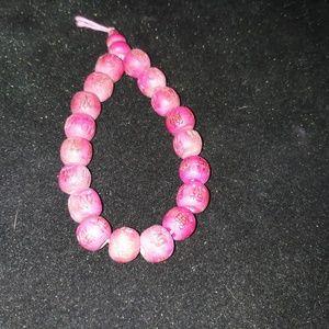 Vintage Wooden Bead Bracelet